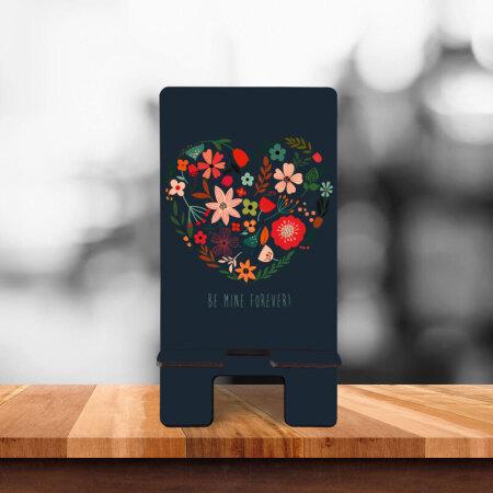 Be Mine Forever Yazılı Teleofon Standı