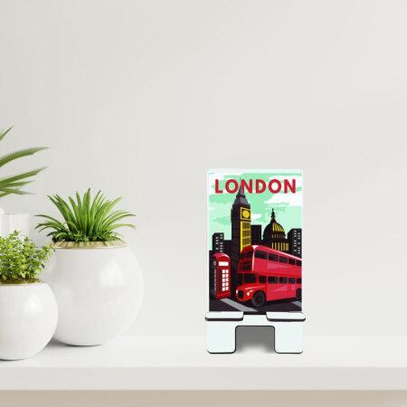 Londra Temalı Telefon Standı