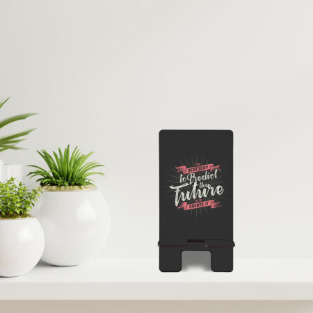 Predict the future telefon standı